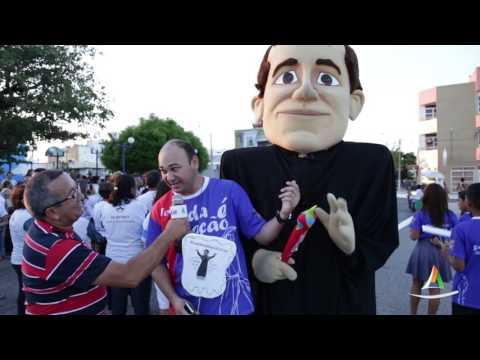 Assista vídeo especial da 3ª Caminhada da Família dentro das comemorações da Festa de Nossa Senhora dos Navegantes 2016