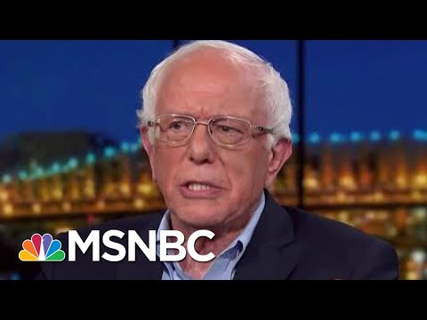 Bernie Sanders Pushes Back On Ageism: Look At The Totality Of The Person | Rachel Maddow | MSNBC