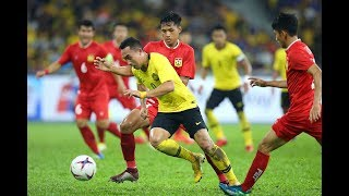 Malaysia 3-1 Laos (AFF Suzuki Cup 2018: Group Stage Full Match)