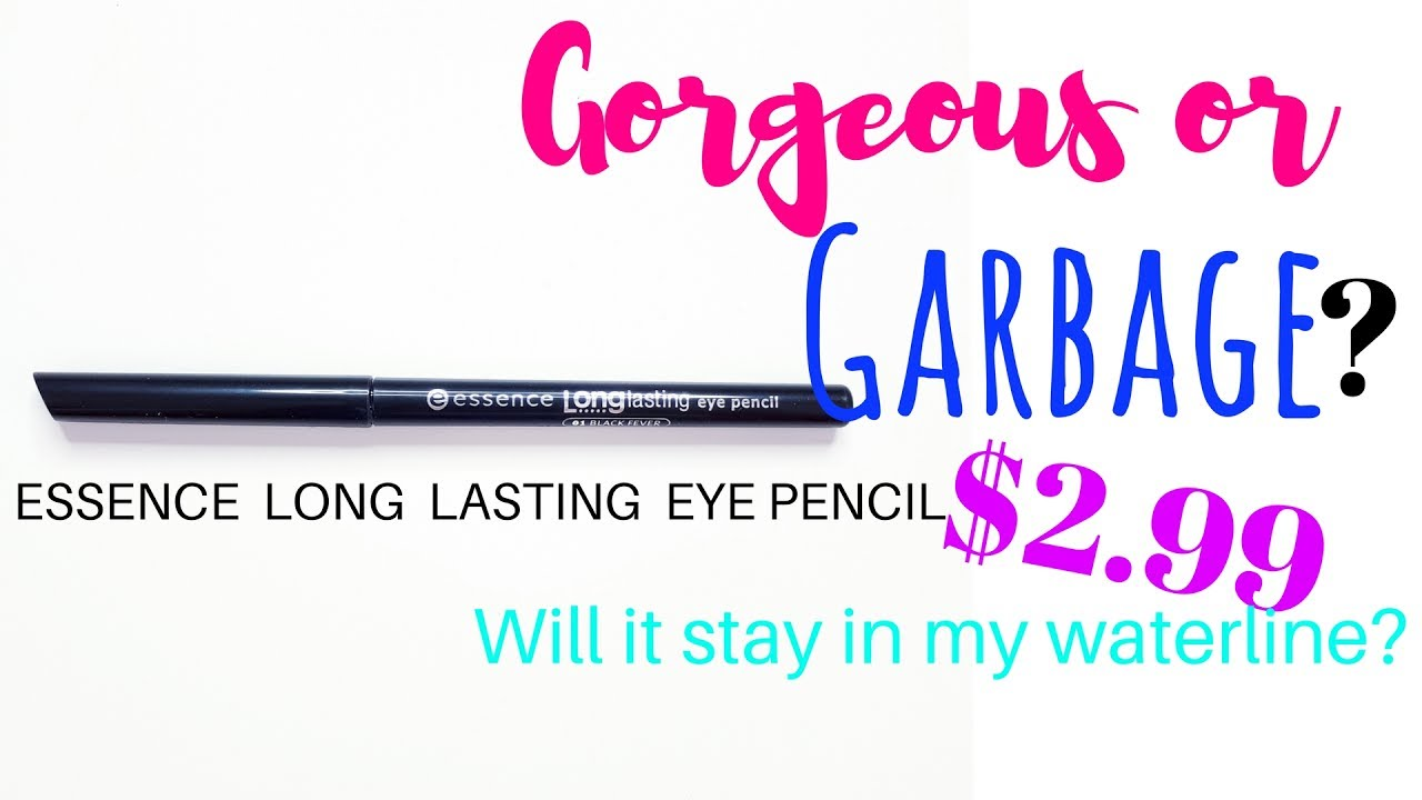 Long Lasting Eye Pencil Black Fever 01 by essence #12