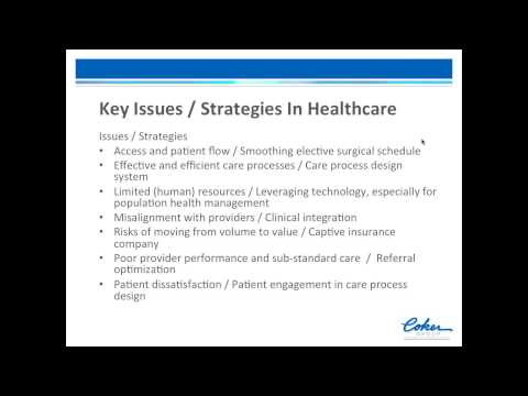 Strategic Planning For Hospitals And Healthcare Systems