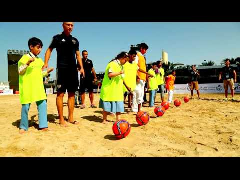Samsung Beach Soccer Intercontinental Cup 2015 Al Noor Training Centre and Beach Soccer Foundation