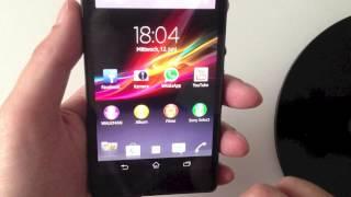 Sony Xperia Z Hands on & Talkback Deutsch - Technikchocolate