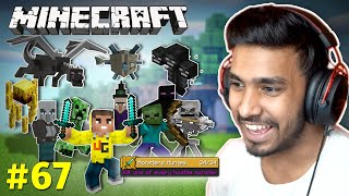FINALLY I KILLED ALL MONSTERS | MINECRAFT GAMEPLAY #67