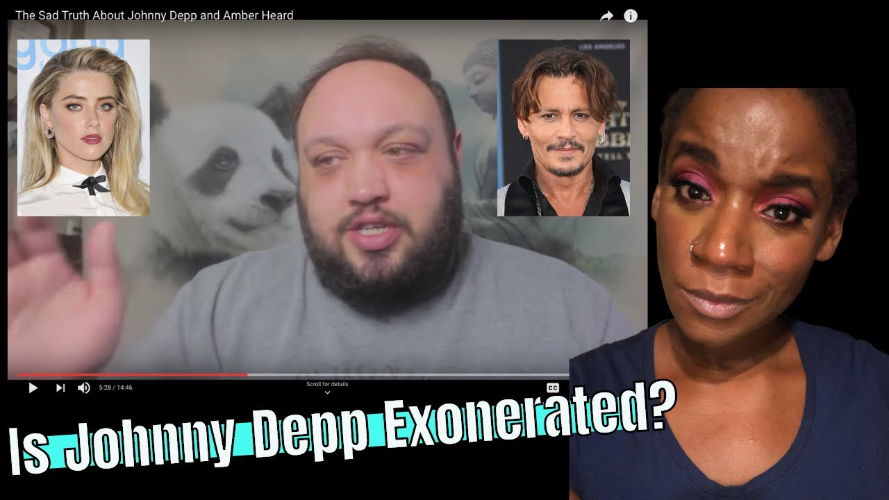 The Rewired Soul Speaks On Johnny Depp & Amber Heard Situation- My Reaction