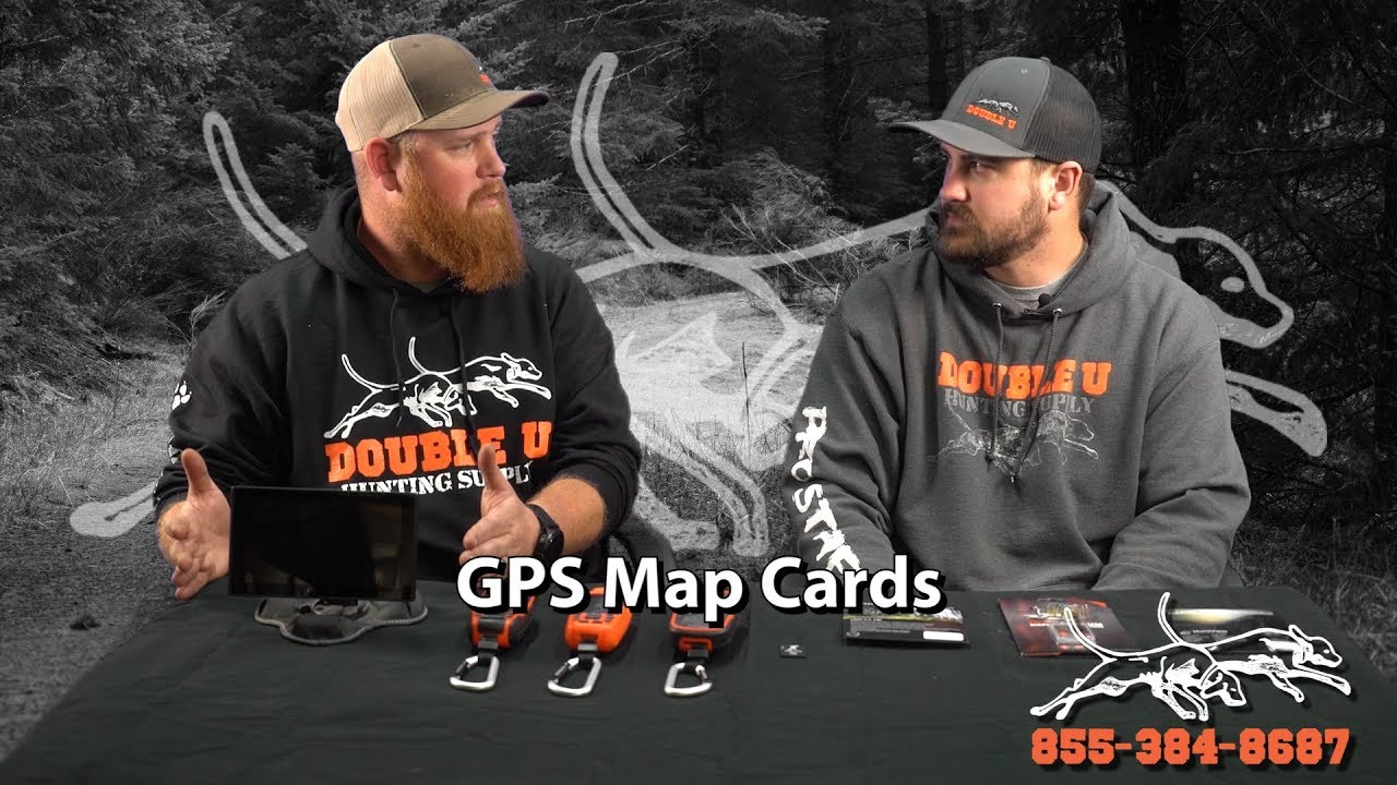 Double U Discusses the Differences Between the Map Cards for Garmin GPS  Tracking