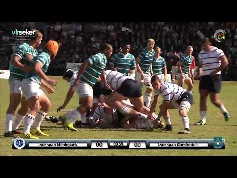 1ste Span Menlo vs Garsfontein - Virseker Beker by Hoërskool Menlopark Pretoria