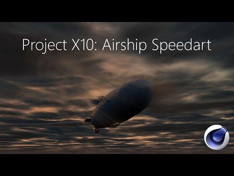 Project X10: Airship Speedart