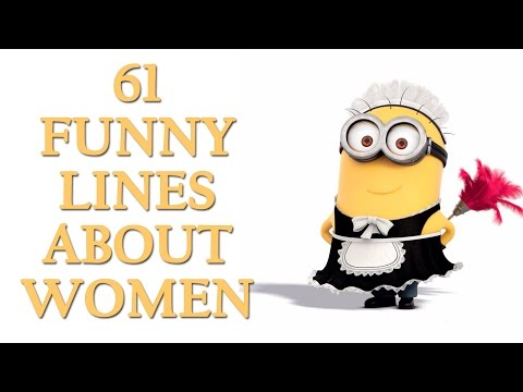 61 Funny Line About Women | Funny Quotes On Women