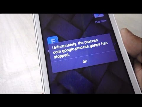 How to fix All Error of Unfortunately the Process has Stopped in Android Phone & Tablet