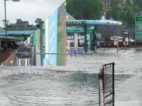 Omagh Flooding