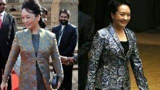 美国第一夫人米歇尔Michelle Obama抵京访问 21日将与彭丽媛Peng Liyan会面 彭丽媛与米歇尔衣着大PK