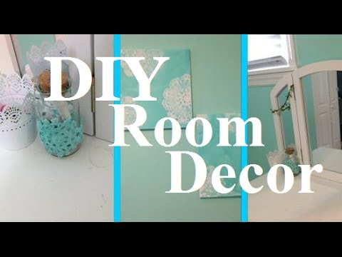 DIY Room Decor Easy Crafts For Your Bedroom YouTube - Diy crafts for bedroom