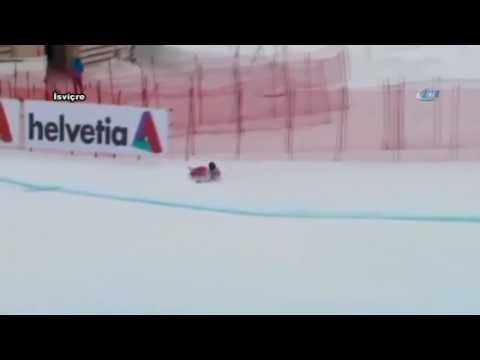 Dünya Kayak Şampiyonasında Feci Kaza ART HABER