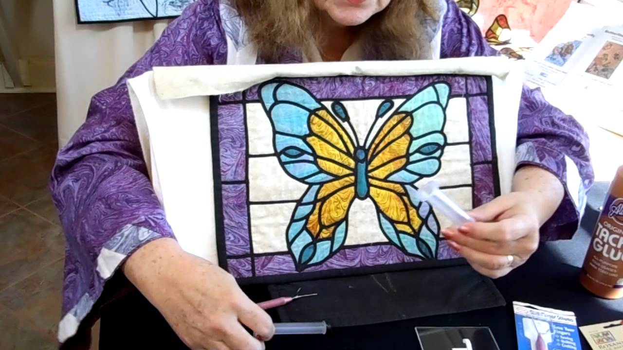 Stained Glass Quilting Technique With A Different Easy
