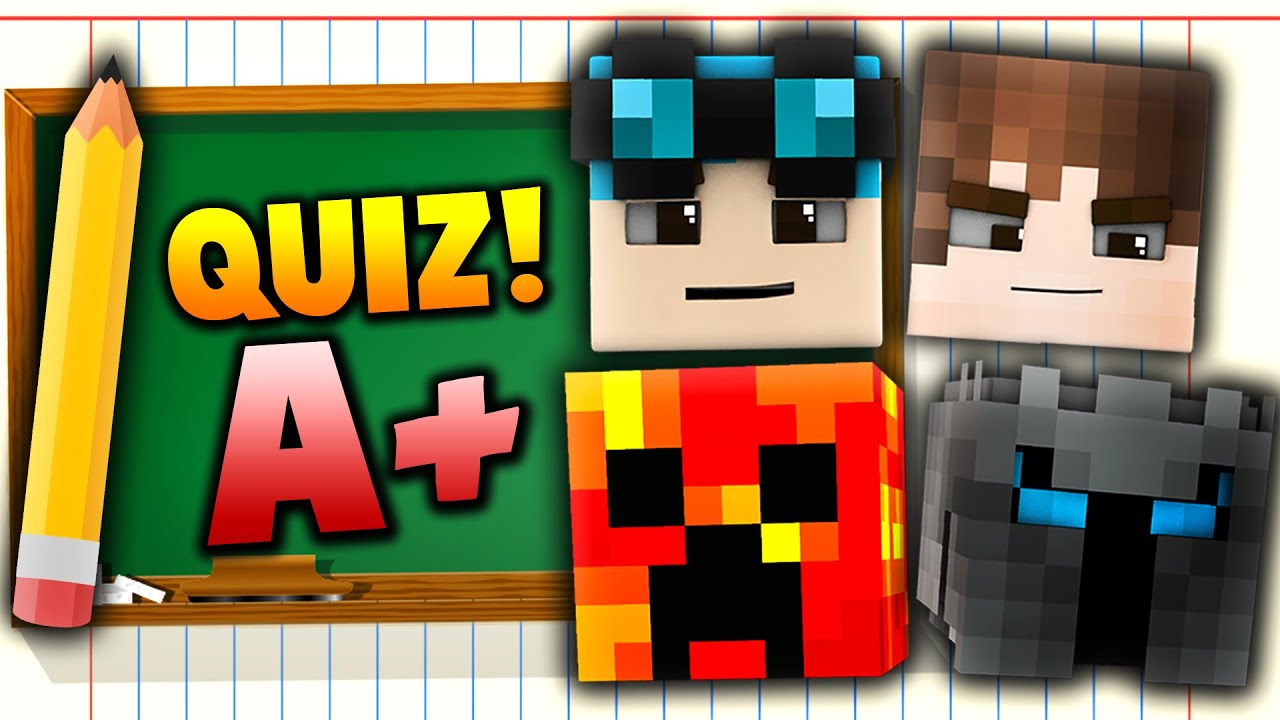 Minecraft YOUTUBER QUIZ CHALLENGE Over  Different YouTubers - Map of united states quiz game