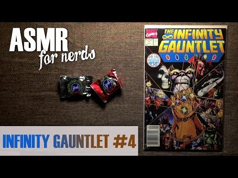 Infinity Gauntlet ASMR #4 Comic Reading - male, whisper, page turning