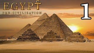 pre-Civilization Egypt #1 Стратегия про Древний Египет  / Прохождение