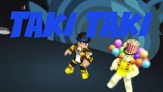 ROBLOX MUSIC VIDEO DJ Snake - Taki Taki ft. Selena Gomez, Ozuna, Cardi B