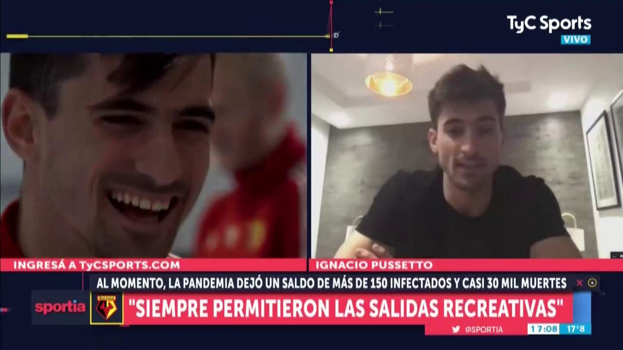 """Download Ignacio Pussetto: """"Estuve cerca de Boca antes de venir a Europa"""""""