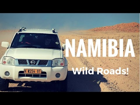Namibia and the Roads from the Moon!