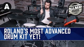 NEW Roland V-Drums Acoustic Design Series - Their Most Advanced Electronic Drum Kit Yet! - NAMM 2020