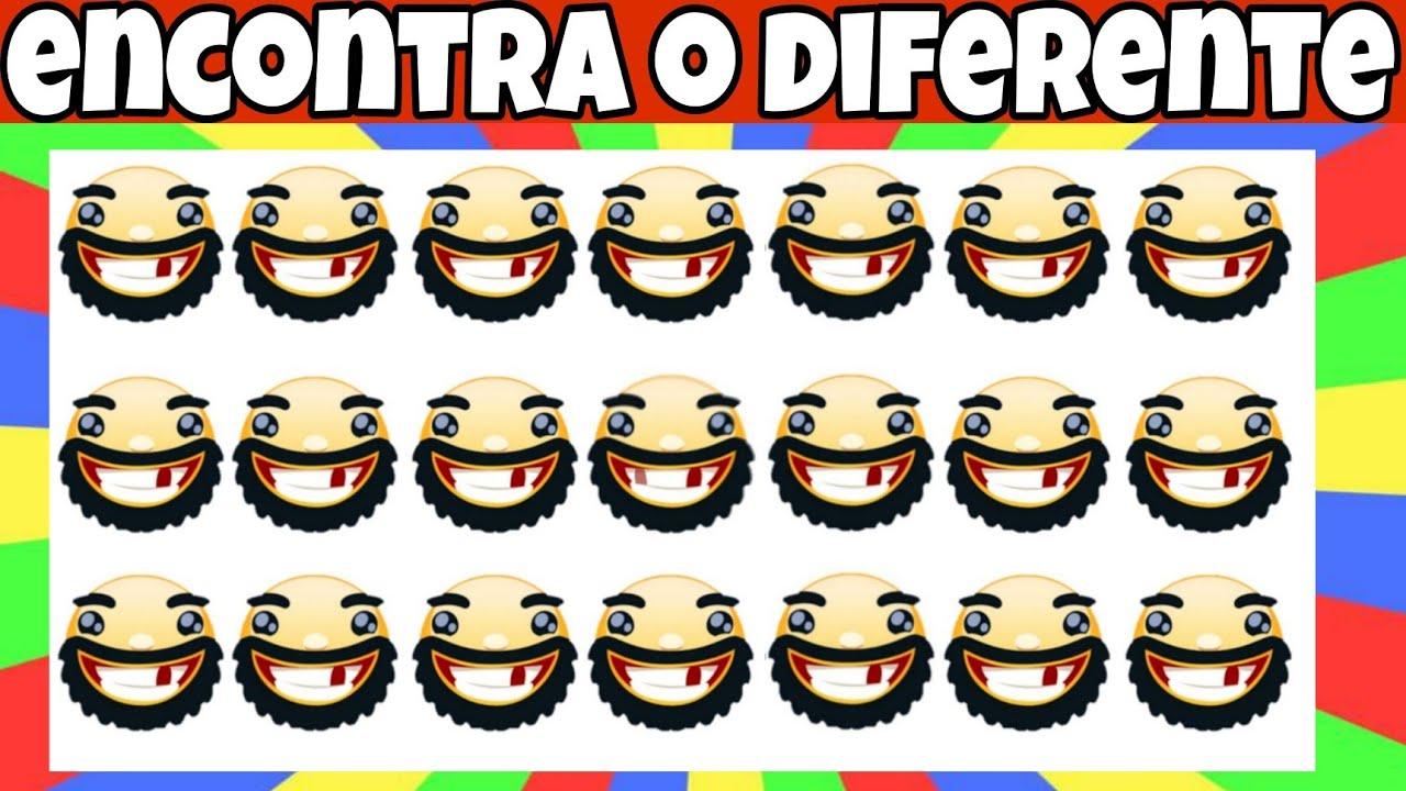 Download qual é o emoji diferente - qual é o emoji diferente - encontre o emoji diferente
