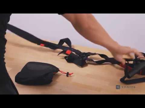 [迪卡儂] Domyos健身運動品牌 懸掛式健身訓練帶安裝教學 - YouTube