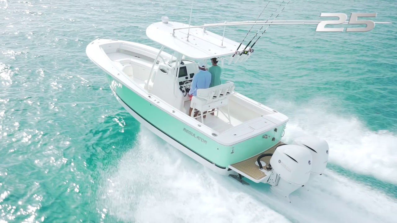 Regulator 25 Center Console | Bluewater Yacht Sales