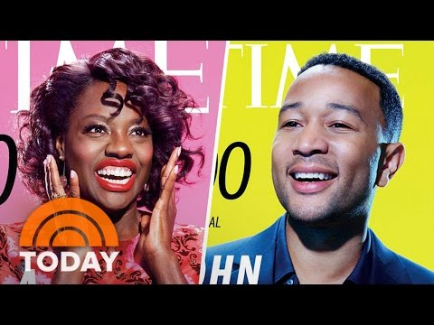 Time's 100 Most Influential People: Viola Davis, President Trump, Simone Biles | TODAY