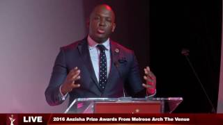 Anzisha Gala 2016 - Key Note Speech by Vusi Thembekwayo