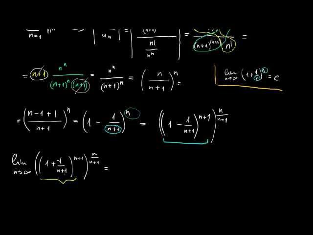 Hányados kritérium, abszolút és feltételes konvergencia