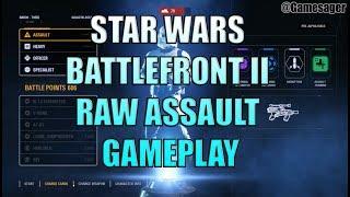 Star wars Battlefront II PC 60fps Satisfying Assault gameplay.