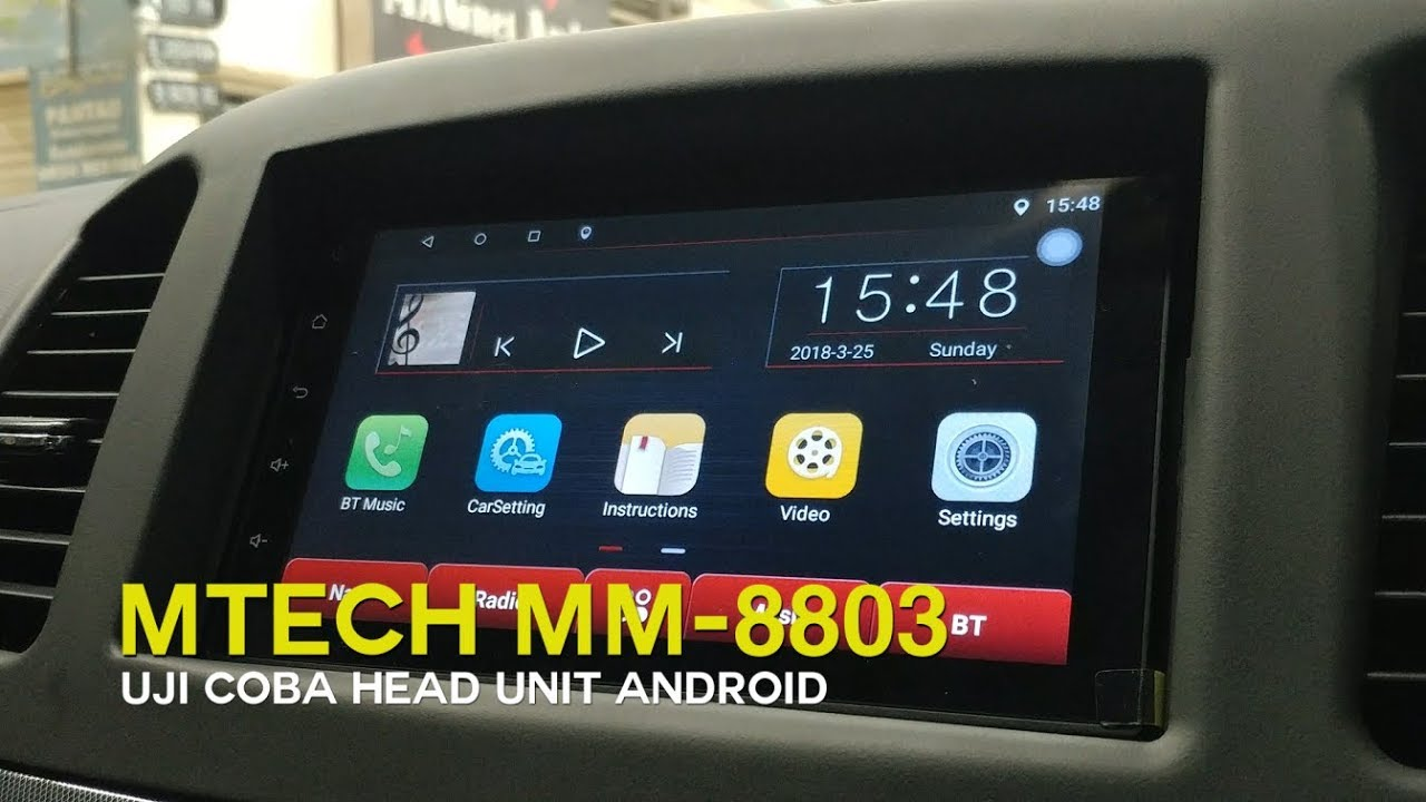 Mtech MM-8803  Head Unit Android dengan Harga Terjangkau