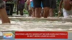 UB: Bagyong Labuyo, nagdulot ng kabi-kabilang pinsala sa iba't ibang lugar sa Luzon