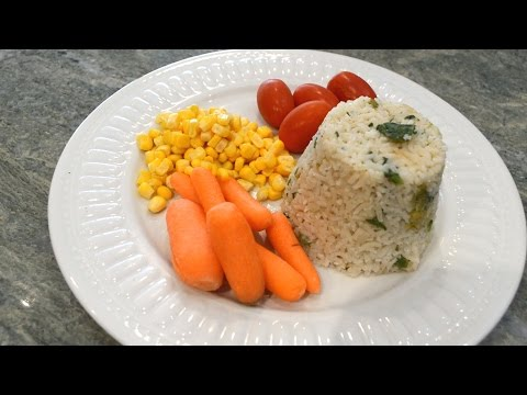 Bok Choy Rice - Easy Quick Vegan