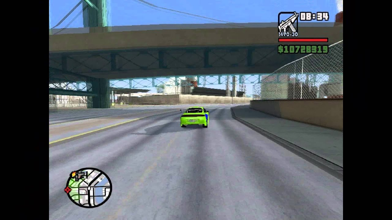 Gta Sa Role De Eclipse Velozes E Furiosos 1 Homenagem A Paul