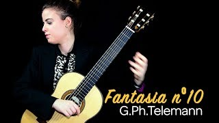 Merce Font - Fantasia nº10 by G.Ph.Telemann (Transcr.C.Marchione)