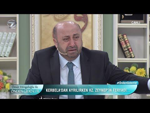 Ömer Döngeloğlu Kerbela Olayını Anlatırken Gözyaşlarına Boğuldu!