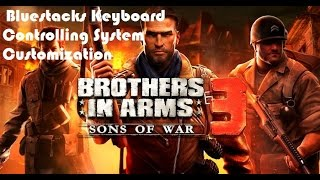 """Keyboard Control""  of  Brothers In Arms 3 on PC Bluestacks"