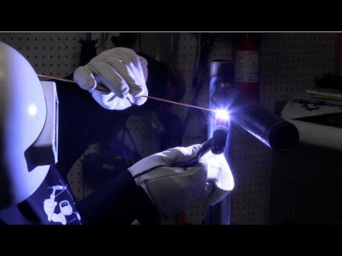 TIG Welding Basics 4 - Metal Prep, Stubby Gas lens, and more