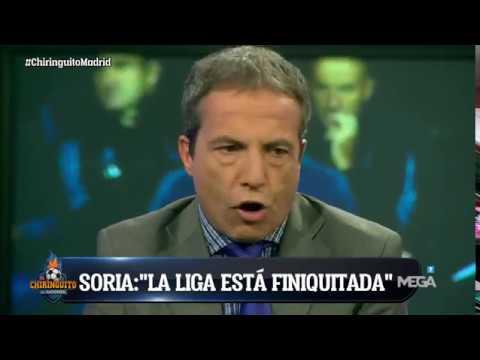 "Cristóbal Soria, TAJANTE: ""LA LIGA está FINIQUITADA"""