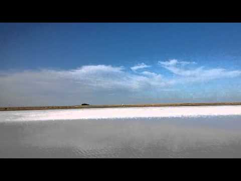 Salt Lake in Kazakhstan part 1