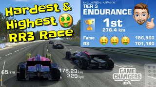 Hardest & Highest Paying Race in Real racing 3 screenshot 4