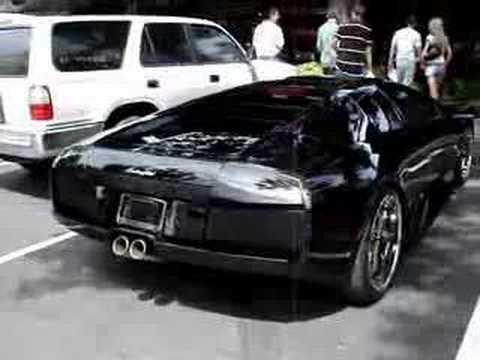 Black Lamborghini Murcielago Youtube