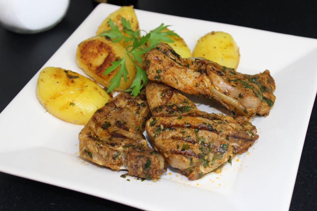 lammkoteletts auf marokkanischer art lammkoteletts mit