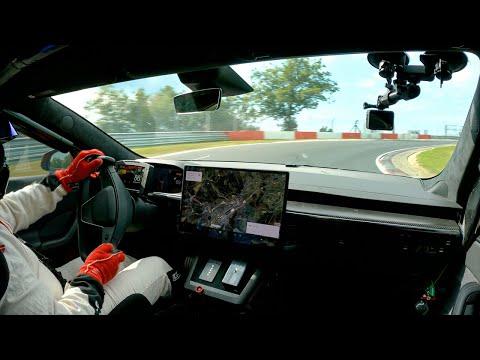 Model S Plaid at Nürburgring