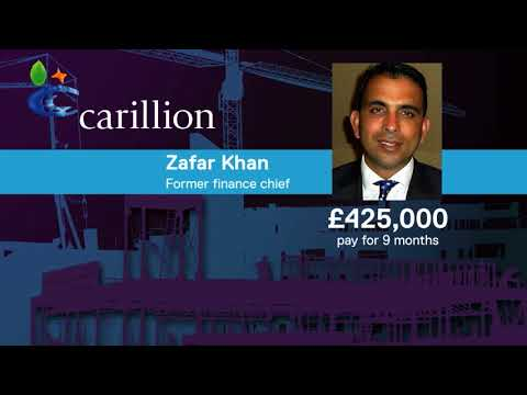 Carillion: Questions raised over bosses' bonuses