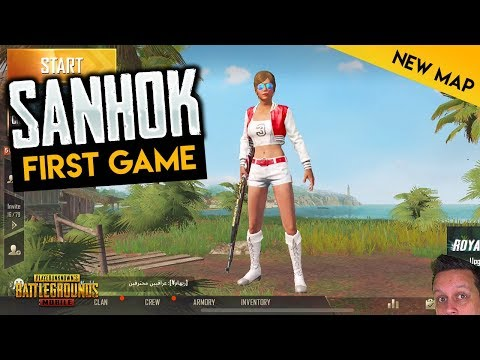 PUBG MOBILE SANHOK UPDATE! 1ST GAME - RUINS Drop!
