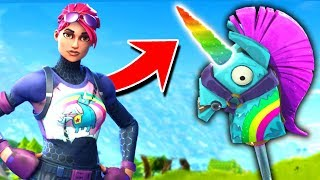 The *SECRET* RAINBOW UNICORN In Fortnite Battle Royale
